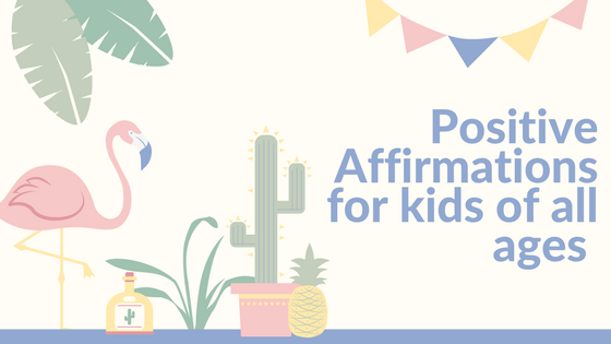 photo about Free Printable Affirmation Cards known as Favourable Affirmations for little ones of all ages like totally free